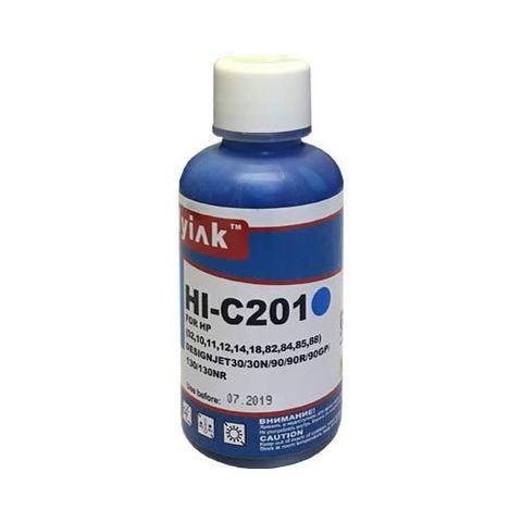 Чернила HI-C201 MyInk для HP 82/85/10/11/88 (100 мл, cyan, dye) EverBrite™
