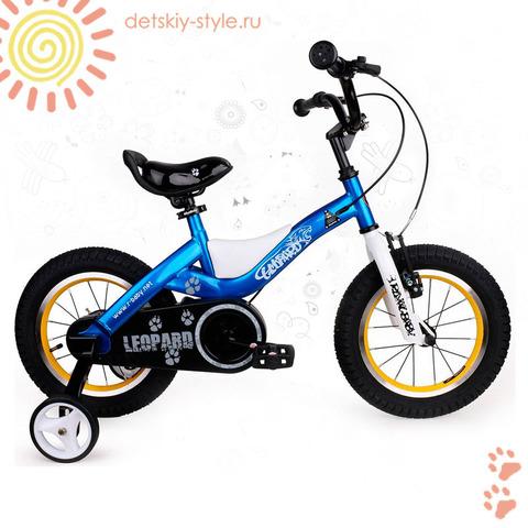 "Велосипед Royal Baby ""Leopard Steel 16"" (Роял Беби)"