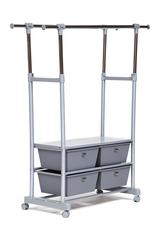 Вешалка NY-3297 — хром/серый