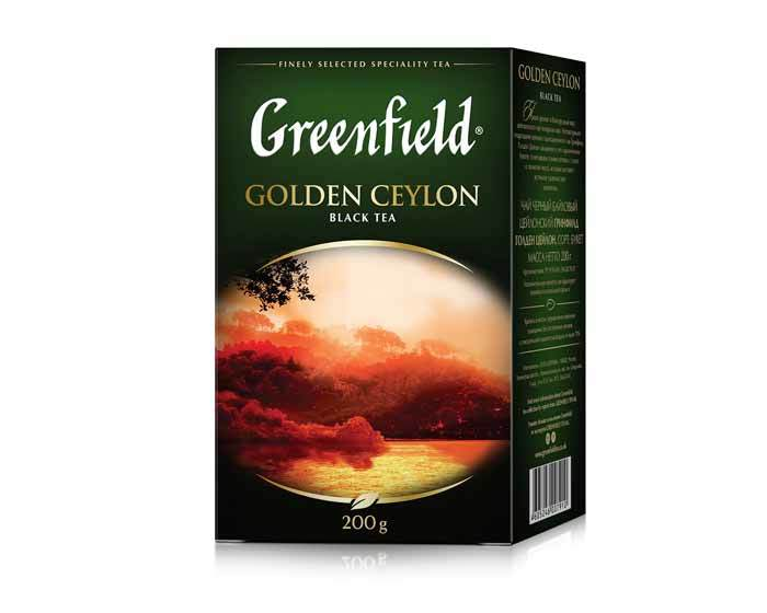 Greenfield Golden Ceylon, 200 г