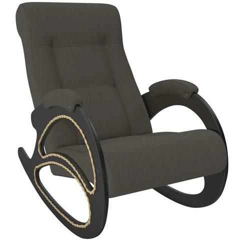 Кресло-качалка Комфорт Модель 4 венге/Montana 802