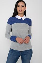 <p>Практичный свитшот для современной дамы. ( Длина свитшота/ длина рукава: Все размеры-61см/62см)</p>