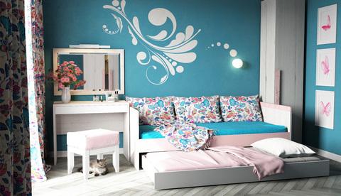 Кровать с дополнительным спальным местом  «Нью тон»