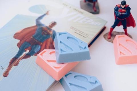 Бомбочка для ванны Супермен