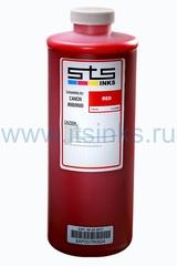 Пигментные чернила STS для HP Red 1000 мл