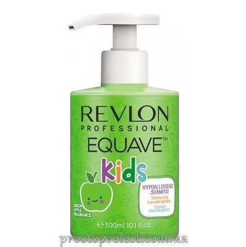 Revlon Professional Equave Kids Shampoo - Шампунь 2 в 1 увлажняющий и питательный для детей