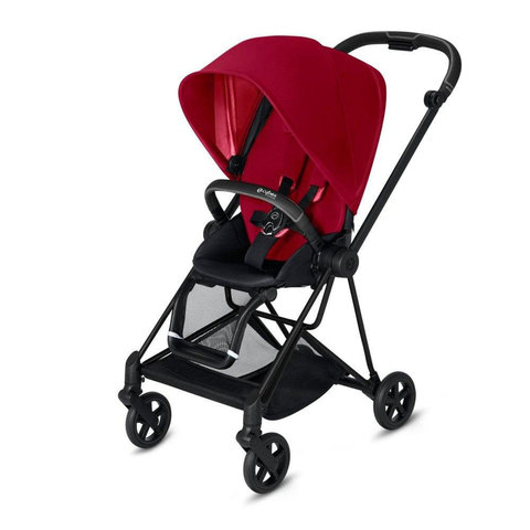 Прогулочная коляска  Cybex Mios True Red matt black