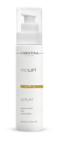 Christina Clinical ProLift Serum Expression Line Reduction