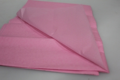 Бумага тишью розовая 76 х 50 см, 10 листов 28 г/м