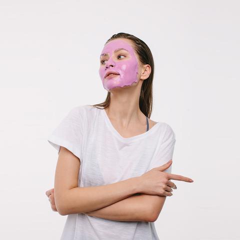 Альгинатная лифтинг-маска с вытяжкой из винограда для любых типов кожи