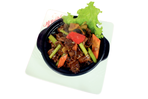 Утка в пивном соусе с овощами啤酒焖鸭煲 400гр