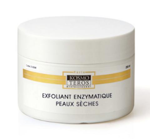Пилинг для нормальной и сухой кожи энзимно - механический, Exfoliant enzymatique peaux seches, Kosmoteros (Космотерос), 250 мл