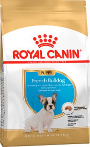 Royal Canin French Bulldog Puppy сухой корм для щенков французского бульдога до 12 месяцев