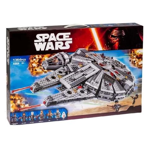 Звездные Войны 10467 Сокол Тысячелетия 1364 дет конструктор