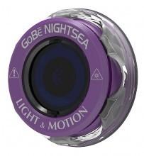 Головка фонаря Light and Motion GoBe NightSea фиолетовая