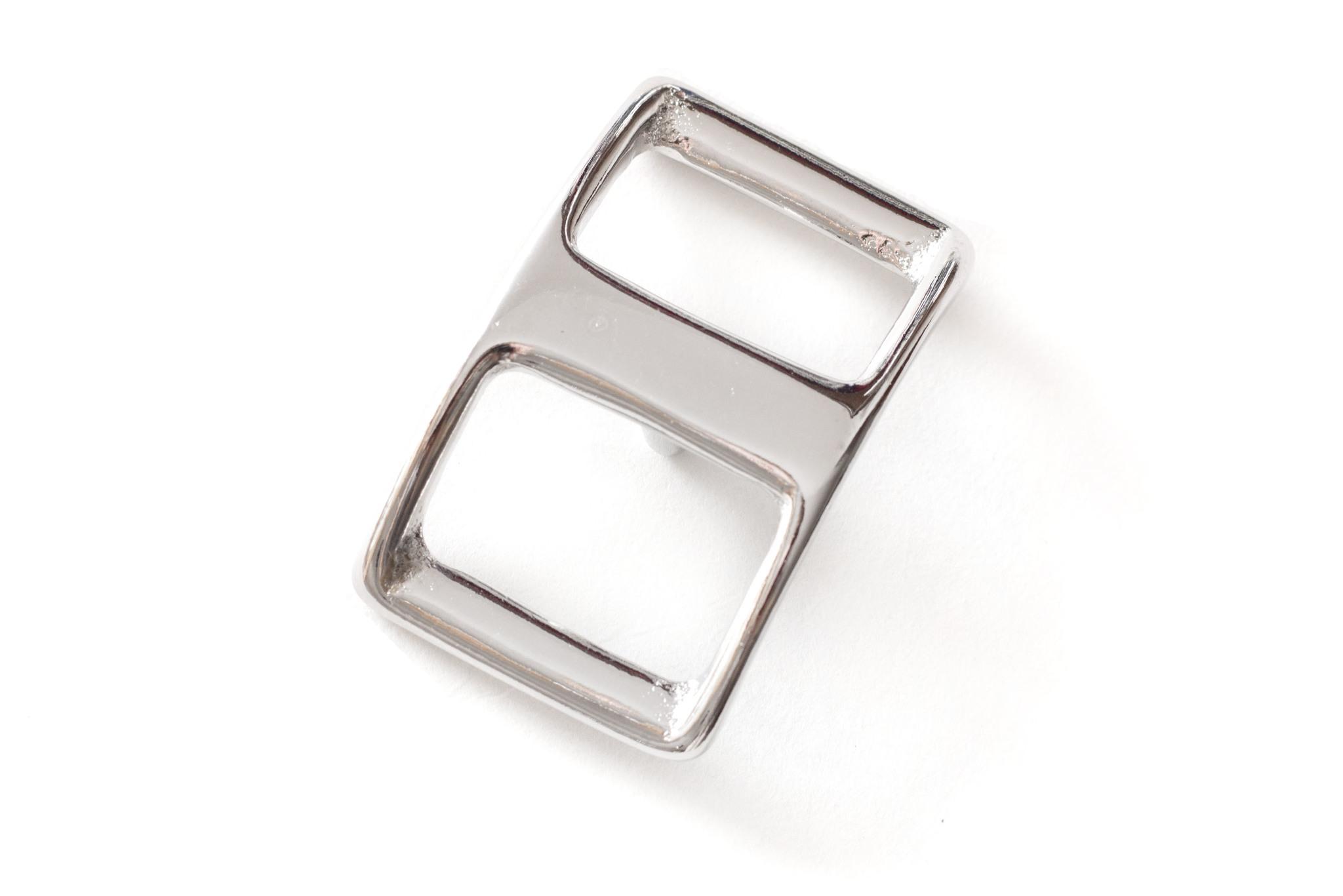Пряжка литая 20 мм, никель