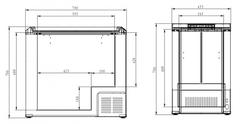 Купить Компрессорный автохолодильник COLKU DC112-F от производителя недорого.