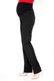Утепленные брюки для беременных 08164 черный