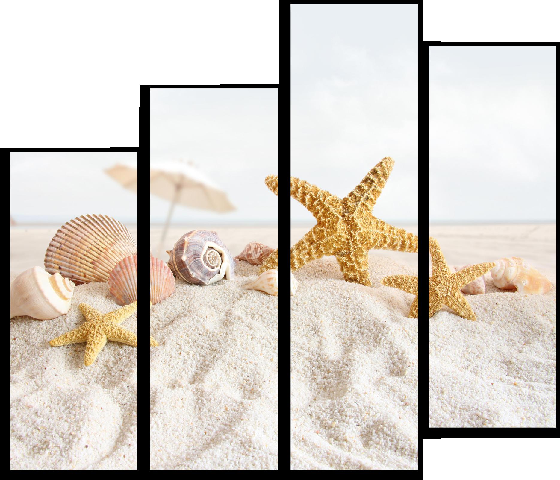 "Природа Модульная картина ""Звезды на берегу"" М385.png"