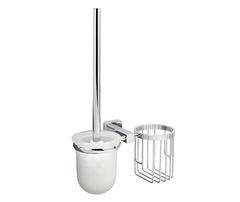 Ершик для туалета WasserKRAFT Lippe K-6535 с держателем освежителя воздуха