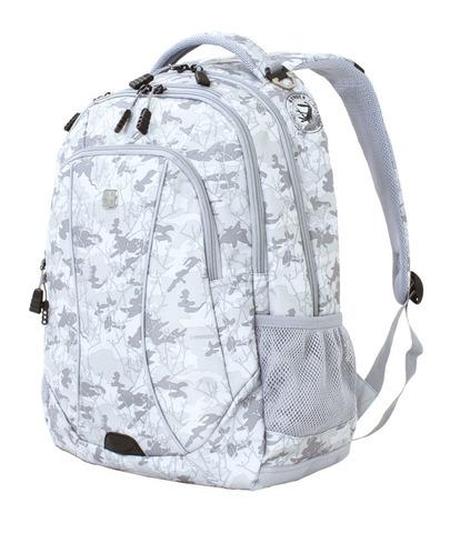Городской рюкзак серый камуфляж 32 л WENGER 6659400408