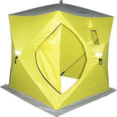 Палатка для зимней рыбалки куб Сахалин 2