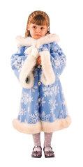 Купить костюм Снегурочки для девочки - Магазин