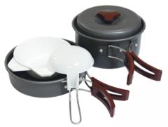 Набор посуды Tramp TRC-025, анодированный алюминий