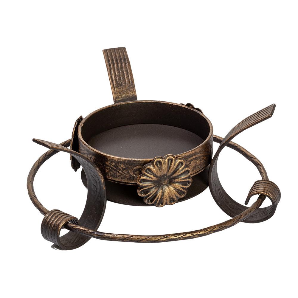 Посуда для подачи шашлыка Кованая подставка садж с ромашкой 883438036_w640_h640_883438036.jpg