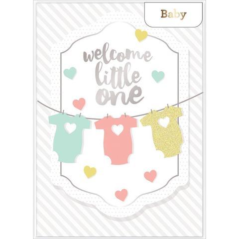 Открытка с конвертом American Crafts Single Greeting Card -1шт