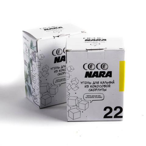 Уголь Coco Nara 24 шт 22 мм