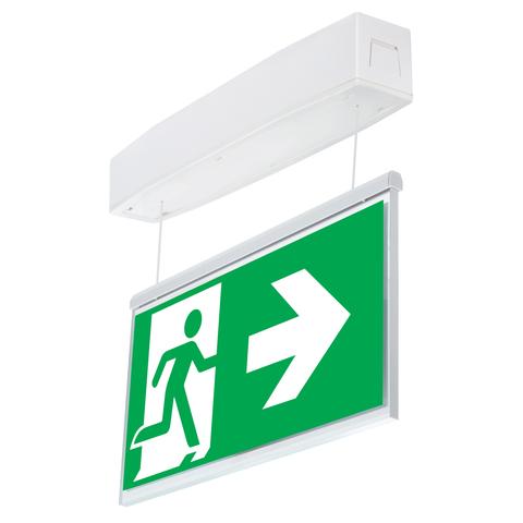 Световые указатели эвакуационного выхода Suprema LED D-std NT IP54 Intelight – общий вид
