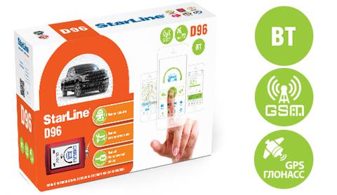 Автоcигнализация StarLine D96 BT 2CAN+2LIN GSM/GPS