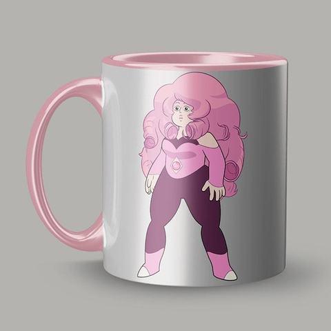 Розовая кружка