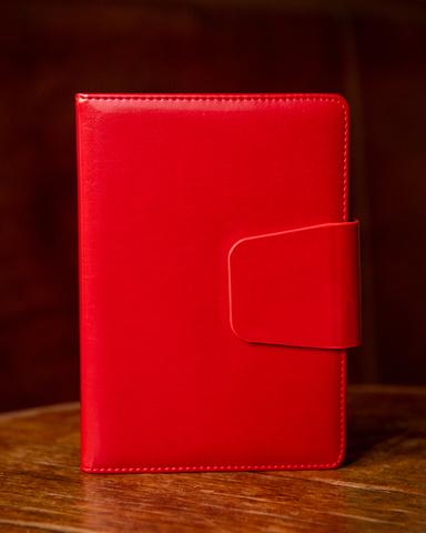 Подарочный набор с позолотой: Ежедневник недатированный и Ручка-роллер Parker IM  Metal GT123