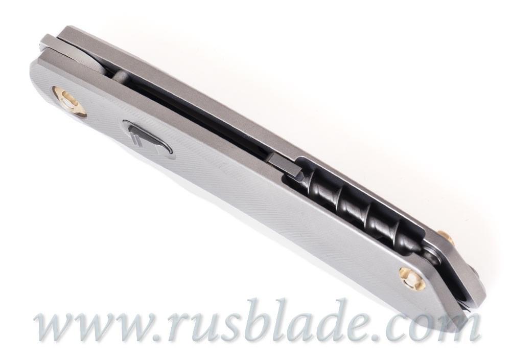 URS knife by CultroTech Knives #67 matt polished blade - фотография