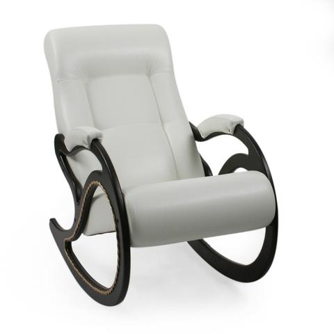 Кресло-качалка Модель 7 венге, к/з Mango 002