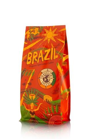 Бразилия ТС Кофе в зернах Арабика (упаковка 250 гр)