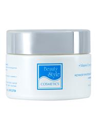 Ночной питательный увлажняющий крем с витамином Е «Аква 24» Beauty Style купить по привлекательной цене