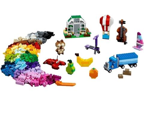 LEGO Classic: Большой набор кубиков для свободного конструирования 10705 — Creative Building Basket — Лего Классик