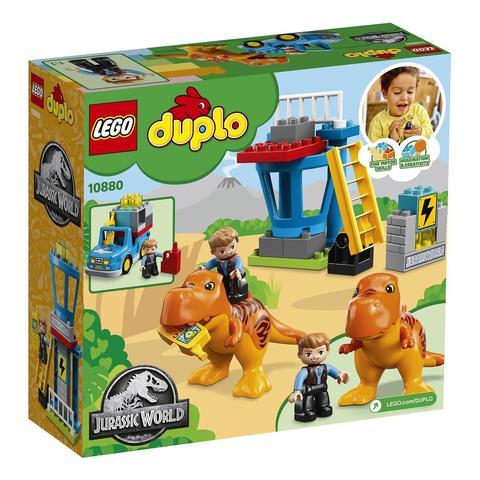 LEGO Duplo: Jurassic World — Башня ти-рекса 10880 — T. rex Tower — Лего Дупло Мир юрского периода