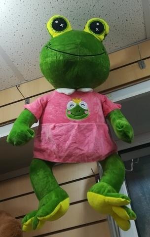 Большая Лягушка мягкая игрушка 50 см