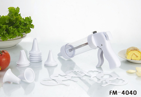 Шприц кондитерский с насадками, 19 предметов, FM - 4040 (18)