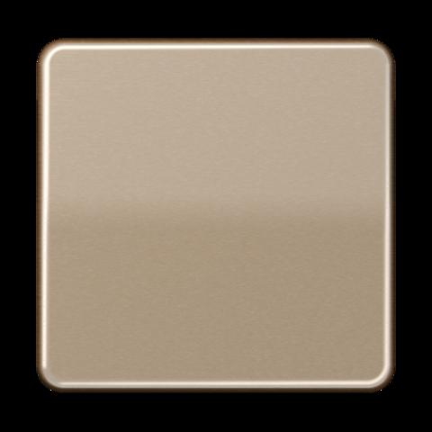 Выключатель одноклавишный. 10 A / 250 B ~. Цвет Золотая бронза. JUNG CD. 501U+CD590GB