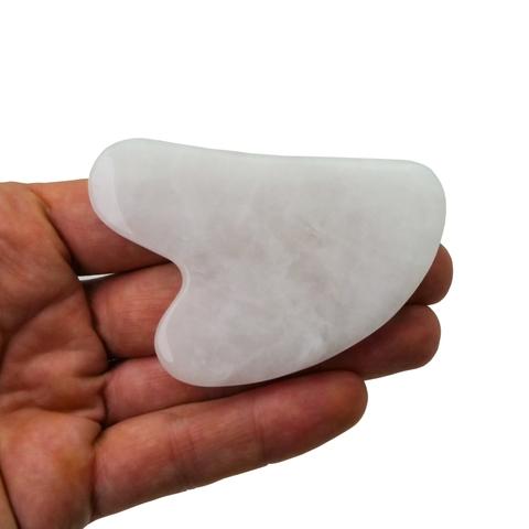 Гуа-ша белый кварц