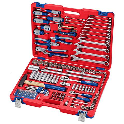 МАСТАК (01-155C) Набор инструментов универсальный, 155 предметов