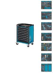 Тележка инструментальная с набором инструмента Hazet 179-8-2700-163/296