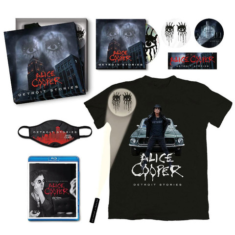 Alice Cooper / Detroit Stories (Limited Edition Box Set)(CD+Blu-ray)