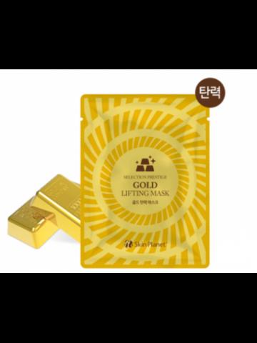 Mijin Skin Planet Gold Lifting Mask маска для лица тканевая с золотом лифтинг-эффектом