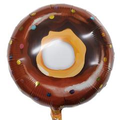 Шар Круг Пончик в шоколадной глазури